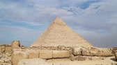 kamień : Timelapse Of The Great Pyramids In Giza Valley, Cairo, Egypt