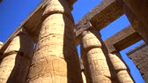 刻まれた : Karnak temple in Luxor, Egypt