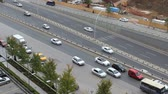surrounding environment : cars moving fast