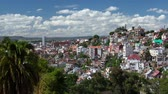 Африка : Time lapse of Antananarivo city at sunny day. Madagascar