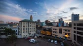 droga : Time lapse of the building in the city of Nairobi