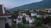 Day to night timelapse of the city of Oludeniz, Fethiye, Turkey