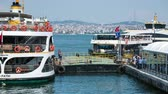 Timelapse of the passenger ferry loading, city of Istanbul, Turkey Dostupné videozáznamy