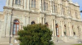istambul : Dolmabahce Sultan Palace Museum in Istanbul Türkei Stock Footage