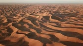 namib desert : Flying over sand dunes in Sahara desert at sunrise, Africa