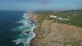 leuchtturm : Aerial View at Cape Roca (Cabo da Roca) - the westernmost point of continental Europe, Portugal, 4k