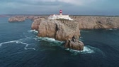 algarve : Aerial view of Lighthouse of Cabo Sao Vicente