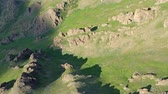 орел : Aerial view of mountains landscape in Mongolia