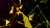 Light abstract and particles background Stock Footage