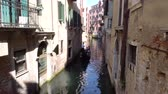 венето : Europe. Italy. Venice September 2018. Gondola floating on the canal in Venice
