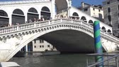 Венеция : Europe. Italy. Venice. Panoramic view of the Grand canal from the bridge on a Sunny summer day