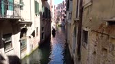 benátky : Europe. Italy. Venice. Gondola floating on the canal in Venice