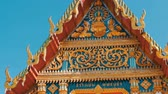 реплика : Beautiful Buddhist gilded temple with variety of ornaments and religious symbols