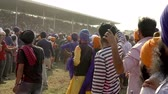 riders : Anandpur Sahib, India-20180302- Hola Mohalla - Sikh Festival - Audience Closes Horse Race Path
