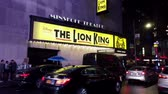 ampul : New York City, New York - 2019-05-08 - Broadway 3 Lion King Theater Marquee.
