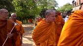 равновесие : Polonnaruwa, Sri Lanka - 2019-03-23 - Monks On Tour 5 - Walking To Next Location.