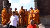 равновесие : Polonnaruwa, Sri Lanka - 2019-03-23 - Monks On Tour 10 - Walking Down Steps.
