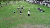 tribunal : Cuenca, Ecuador - 2019-02-10 - Park Pickup Volleyball - Aerial Show Surroundings.
