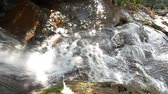 freshness : Close up shot of water flow or waterfall, Full HD