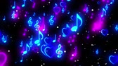 klassischer tanz : Music Notes-Loop-Video