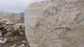 cantaria : Ancient stone with greeks carving in Sagalassos ancient city, Turkey