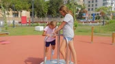 álmodozó : Sisters playing merry-go-round in slow motion. Summer time, southern country