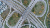 államközi : Top view of ring road, bypass road in Boyana, Sofia, Bulgaria