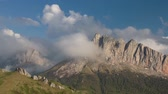 вуаль : Russia, time lapse. The formation and movement of clouds over the summer slopes of Adygea Bolshoy Thach and the Caucasus Mountains