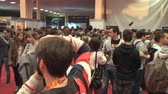 gamers : Bucharest, May The 10th, East European Comic Con, Huge Crowd Of People High Angle Shot