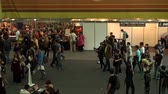 gamers : Bucharest, May The 10th East European Comic Con, Aerial View Cosplayers Posing And People Wandering Around