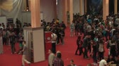 gamers : Bucharest, May The 10th East European Comic Con, Aerial View Of People Walking Around