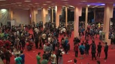 gamers : Bucharest, May The 10th East European Comic Con, Aerial View Of A Large Group Of People