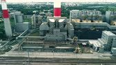 stacja paliw : Aerial view of power station