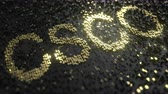 investir : Cisco Systems CSCO stock ticker made of gold numbers, conceptual editorial animation