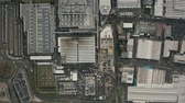 complexo : MARANELLO, ITALY - DECEMBER 24, 2018. Aerial top down view of Ferrari car factory complex
