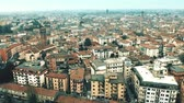 Aerial view of city of Treviso, Italy