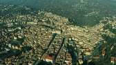 umbrie : Aerial shot of the city of Perugia. Umbria, Italy