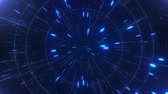 Abstract hyperspace high speed flight, seamless loop