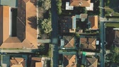 caro : Aerial top down shot of luxury villas and streets of Forte dei Marmi, Italy