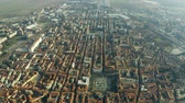 csempézett : Aerial shot of the city of Alessandria, Italy