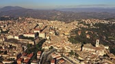 umbrie : High altitude aerial shot of Perugia. Umbria, Italy