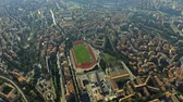 umbrie : Aerial down view of cityscape of Perugia, Italy