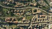 umbrie : Aerial top down view of cityscape of Perugia. Italy
