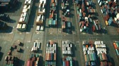 調達 : Aerial view of big cargo port in Dubai, United Arab Emirates