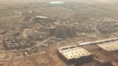 広大な : Aerial view of a big construction site in the desert