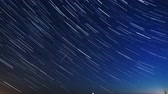 perseids : Perseids meteor shower, stars motion, time lapse shooting in long exposure