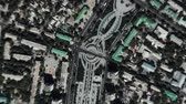 świat : Ashgabat Turkmenistan seen from space to street level. It can easily be used for tourism marketing videos, business marketing videos or professional presentation videos.