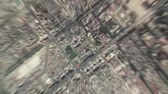 город : Beijing - China seen from space to street level.It can easily be used for tourism marketing videos, business marketing videos or professional presentation videos. Стоковые видеозаписи