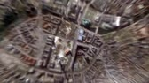 город : Berlin - Germany seen from space to street level.It can easily be used for tourism marketing videos, business marketing videos or professional presentation videos.