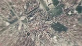 planet earth : Bucharest - Romania seen from space to street level.It can easily be used for tourism marketing videos, business marketing videos or professional presentation videos.